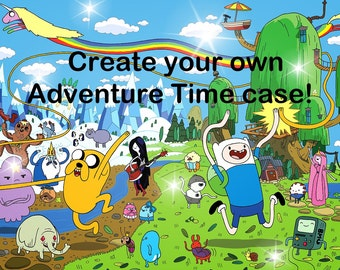 Create your own Adventure Time Inspired case- 2character case
