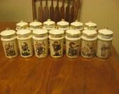 M.J.Hummel Spice Jars