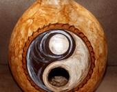 Yin - Yang Gourd Birdhouse