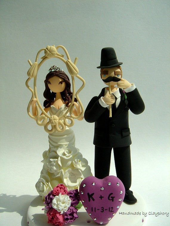 Funny Funny - Customized wedding cake topper