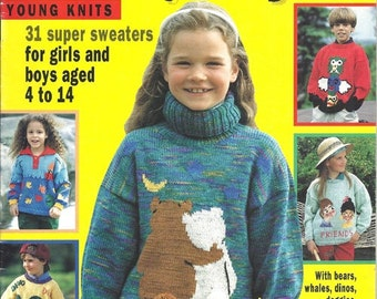 KIDDY STYLE: 31 Super Sweater Patterns for Girls & Boys Ages 4 to 14