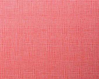 Monaluna Organic Fabrics Havana Collection One Yard of  in Weave in Red