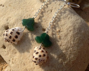 Drupe Dangles with Green Stone