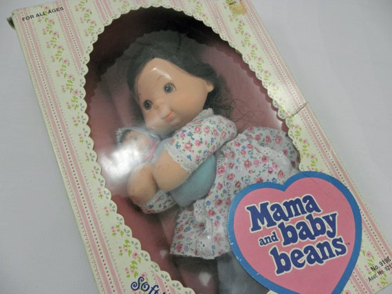 Vintage Baby Doll Mama And Baby Beans 1975 By Mattel Still In