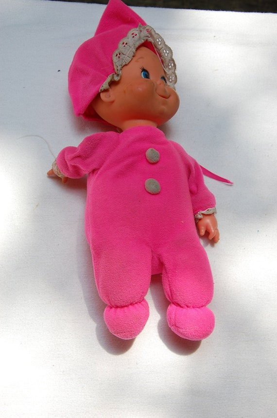 1970 Baby Beans Doll From Mattel
