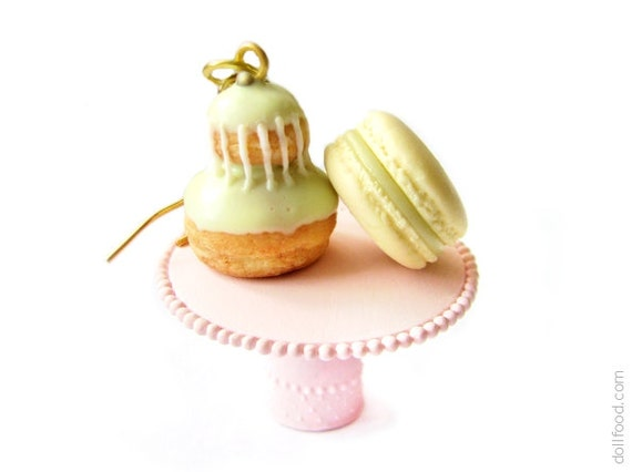 French Desserts Earrings - Food Jewelry