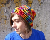 Taste The Rainbow Beanie/Ready to Ship