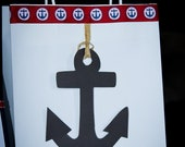 Nautical Anchor Homemade Favor Bags - Set of 10