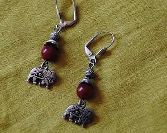 Carnelian Gita earrings