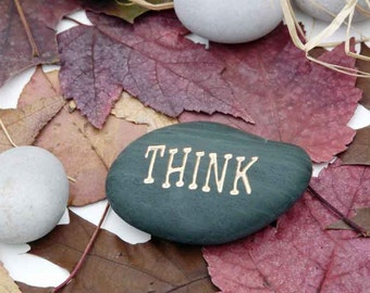 Think Engraved Stone