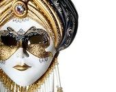 RESERVED for Lee Marina, Venetian Mask , handmade, ceramic material.