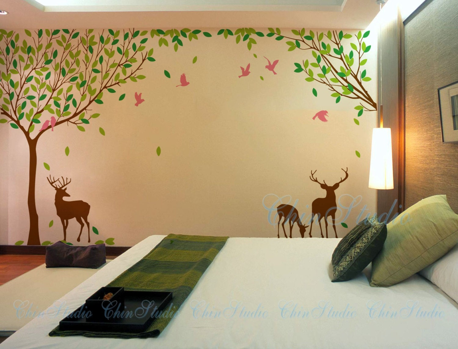 Enchanting Decorative Wall Stickers Nature Component - Wall Art ...
