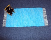 Rug Bisbee Blue--jewel tone vibrates with light & beauty