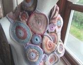 Crochet Circles Scarf