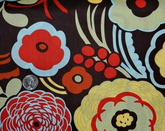 Mocca Flower - Fabric By The Yard