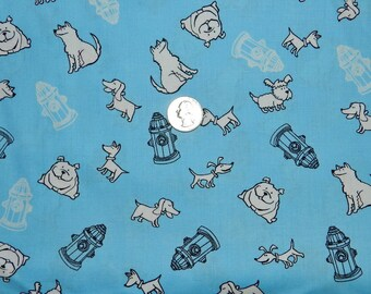 A Dog's Life - Fabric By The Yard