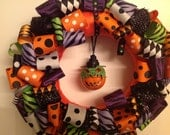 Not Too Scary Halloween Wreath
