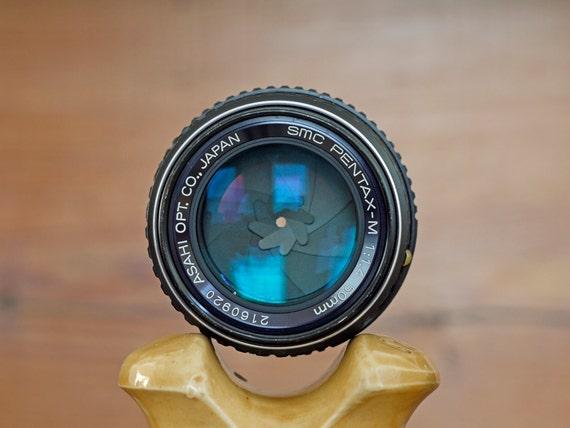 Vintage Pentax-M 50mm f1.4 Lens // Fast Pentax-M 50/1.4 Prime Lens