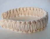 JorJa Band - knotted fabric headband, off white