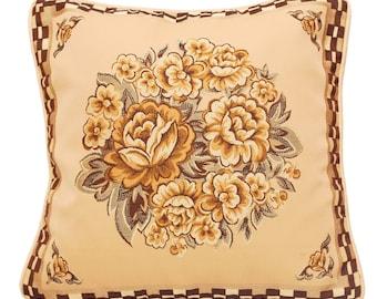 Throw Pillow Cover Beige Throw Pillow Brown Throw Pillow Decorative Pillow Cover Throw Pillow Cream Beige Fall 'Autumn'