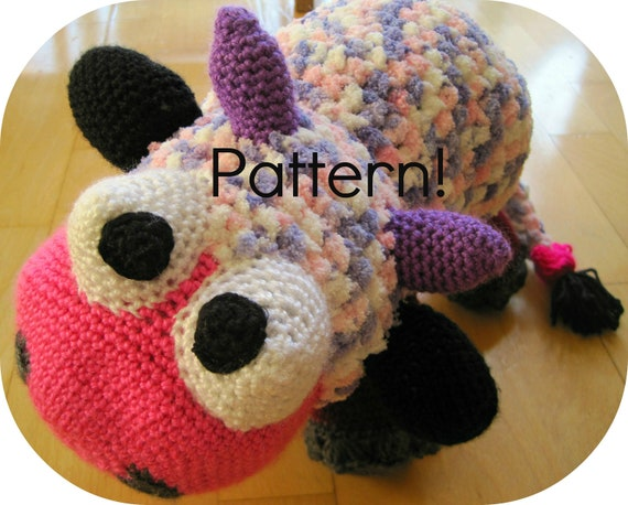 Items similar to Crochet pattern, Cow amigurumi toy ...