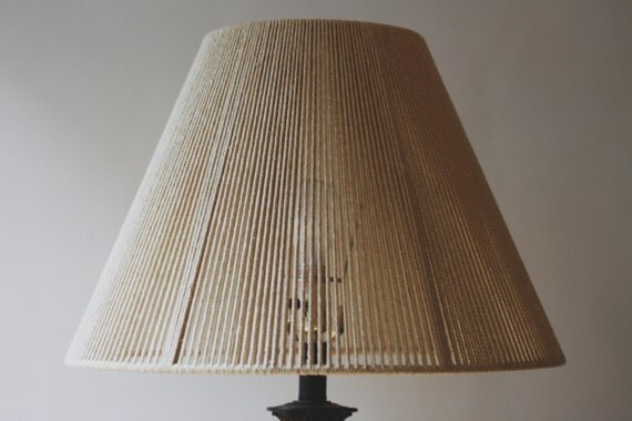 Woven Lamp Shade By Sonadorainlove On Etsy