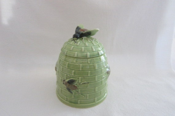 mid century decor honey bee vintage house wares by glasspansy