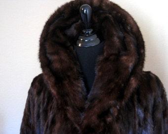 Vintage1960's Mink Coat A.J. Lipsey Beverly Hills
