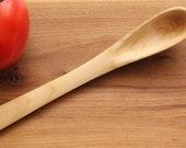 Handmade Wooden Tasting Stirring Spoon of Maple Wood