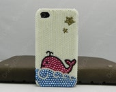 iphone case  iPhone 4 case  Whale breathing  Oceanic inspiration