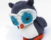 Maria the Owl Crochet Amugurumi Made to Order