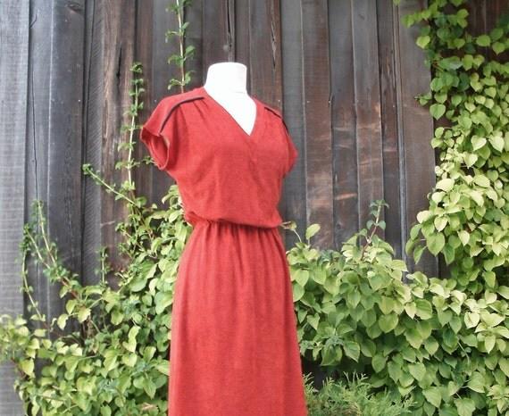 70's Terrycloth Dress