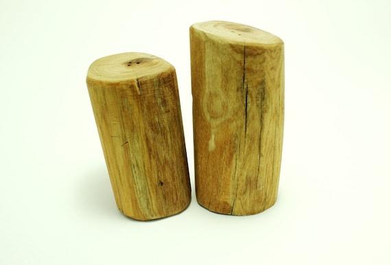 Adirondack Salt and Pepper shakers - Reclaim Wood Handmade