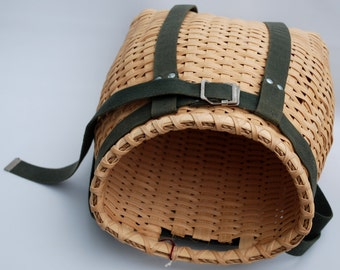 Hiking season...Knapsack Basket