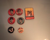 Beatles Set Of Pins And Organizer