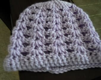 Shell Stitch Baby Hat