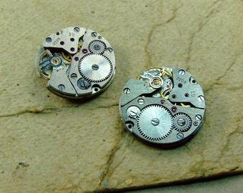 Vintage watch movements - set of 2 - c27