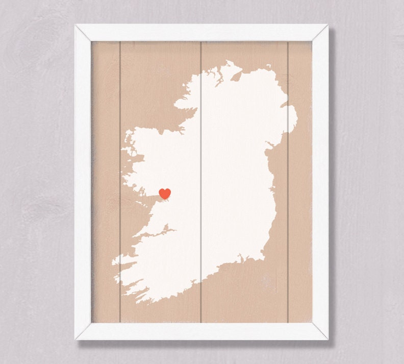 Ireland irish home decor rustic wall art irish for Irish home decorations