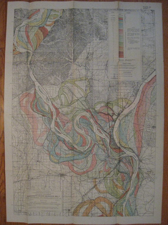 RESERVED for Dan 1944 MAP - Mississippi River Meander Belt sheet 1