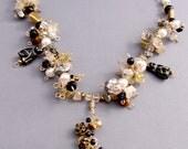 Black Cat Ballroom Necklace