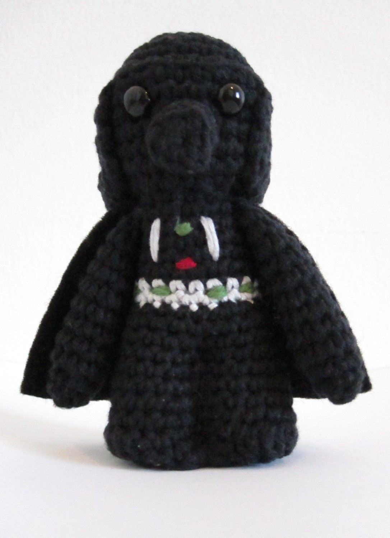 Amigurumi Hakeln Star Wars : Darth Vader inspiriert Amigurumi. Star Wars hakeln Weichei.