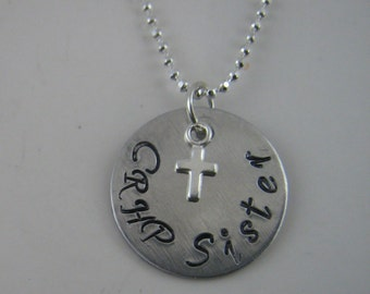 """CRHP Christ Renews His Parish Necklace """"CRHP Sisters"""" Jewelry"""