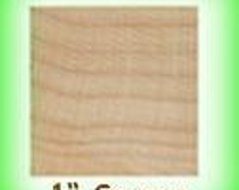 """25 of 1"""" Wooden Square Tiles - Wood"""
