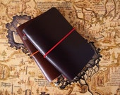 Wanderer's journal - Super high quality leather travel journal with insert