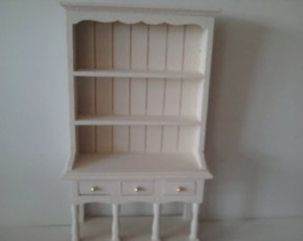Dolls house  dresser hutch hand painted in the colourer of your choice