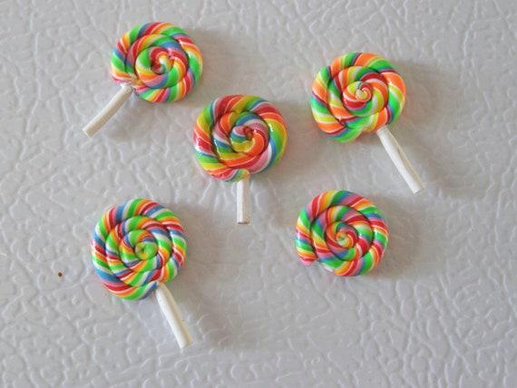 Food fridge magnet - lollipop set