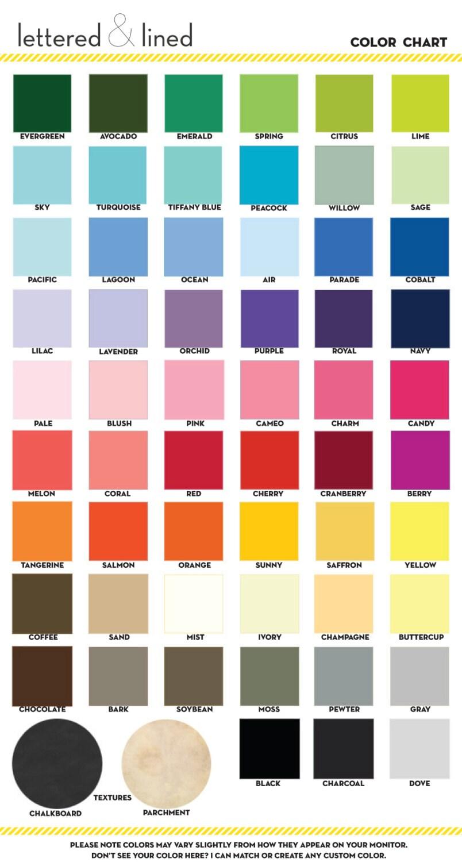 Print Color Guide Sample User Manual