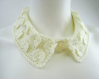 Exclusive crochet collar - fashion accessory