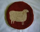 Small Ewe Hooked Rug Kit