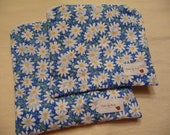 REusable Sandwich and Snack Bag Set - Field of Daisies